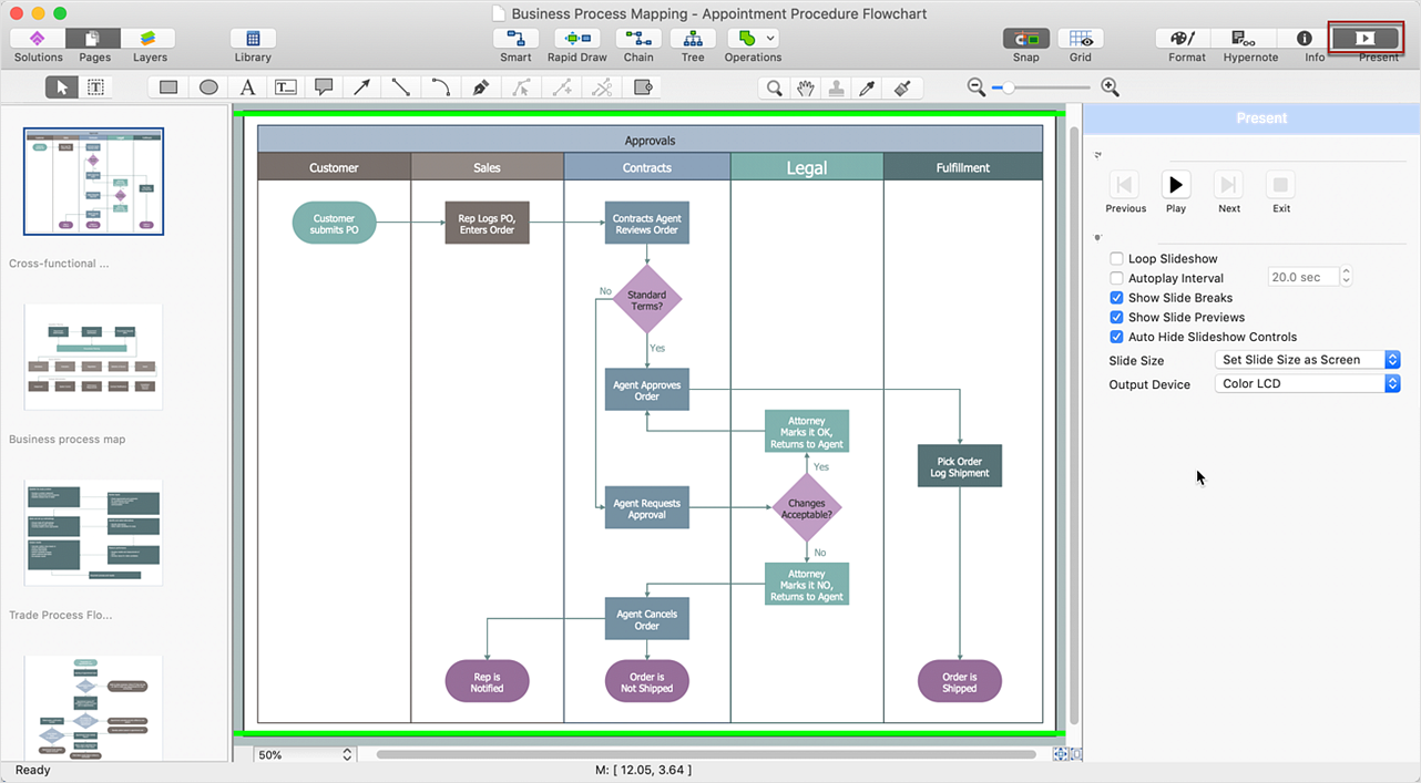 ConceptDraw DIAGRAM Presentation