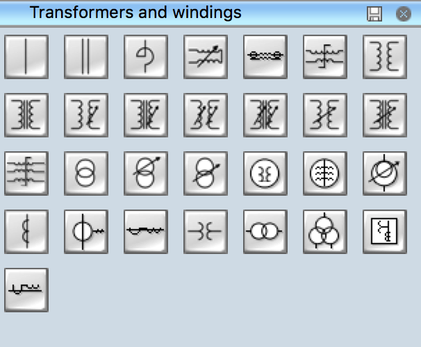 Electrical Symbols - Transformers and Windings