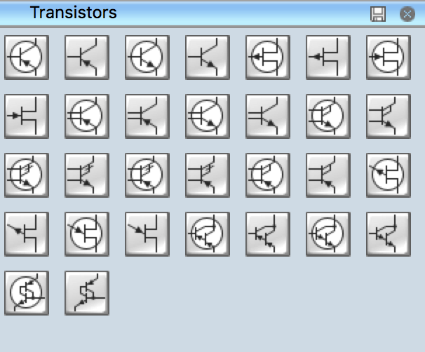 Electrical Symbols - Transistors