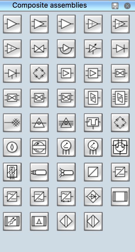 Electrical Symbols — Composite Assemblies