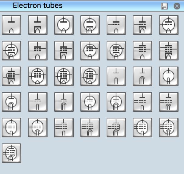 Electrical Symbols - Electron Tubes