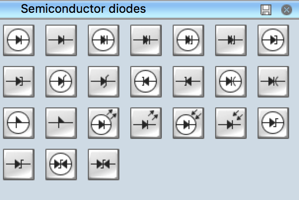 Electrical Symbols Semiconductor Diodes