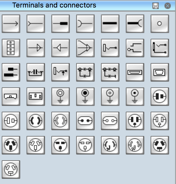 Electrical Symbols | Terminals and ConnectorsConceptdraw.com