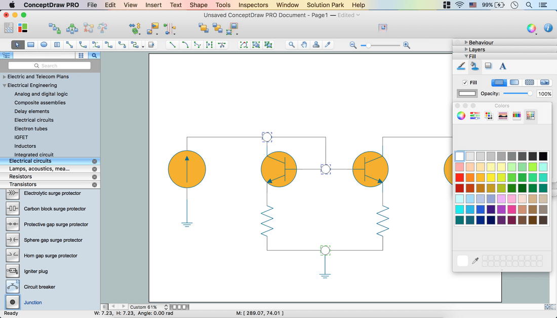 Create an Electrical Diagram