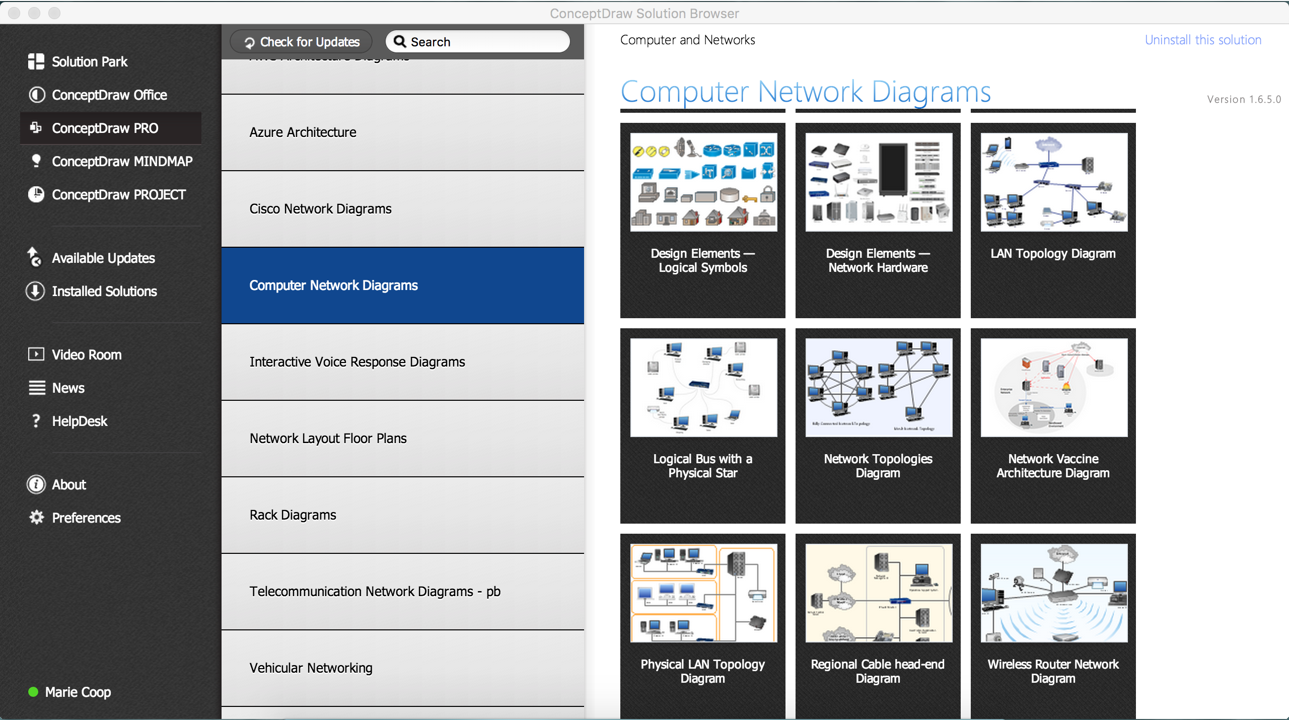 Enterprise Private Network Quickly Create High Quality Cisco Diagrams Solution Conceptdrawcom