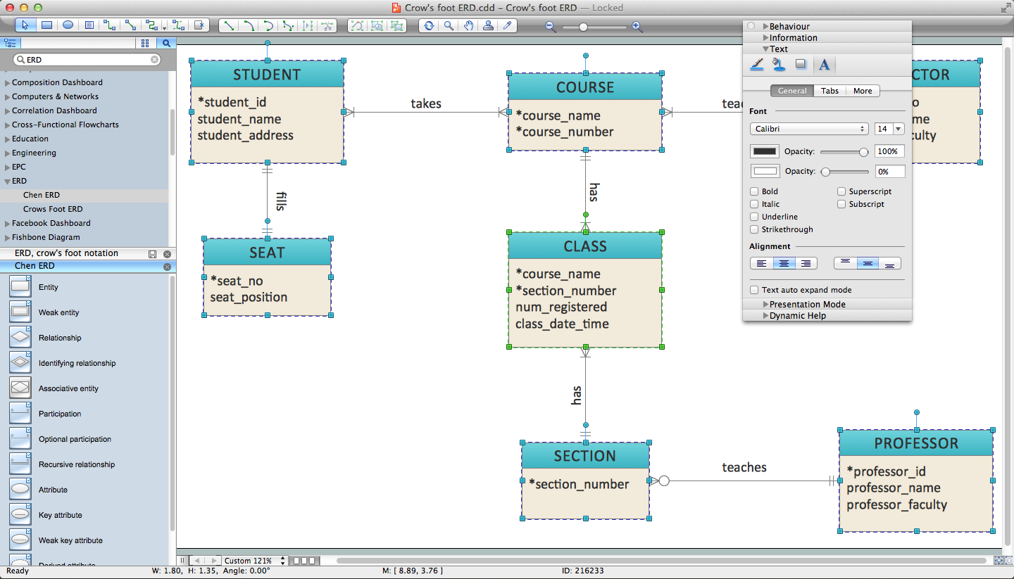 er diagram programs for mac   professional erd drawingsoftware for er diagrams