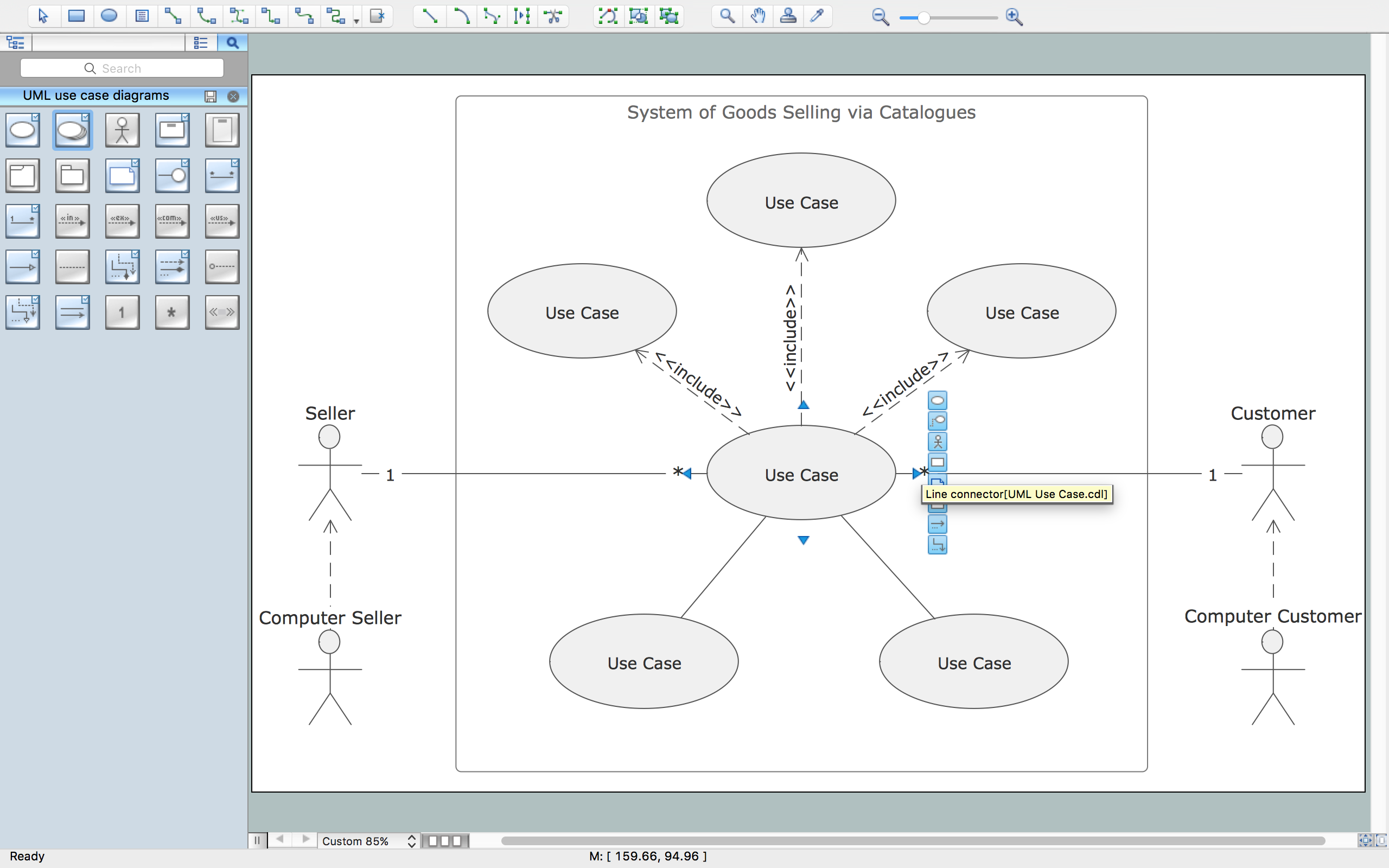 Financial Trade Uml Use Case Diagram Example