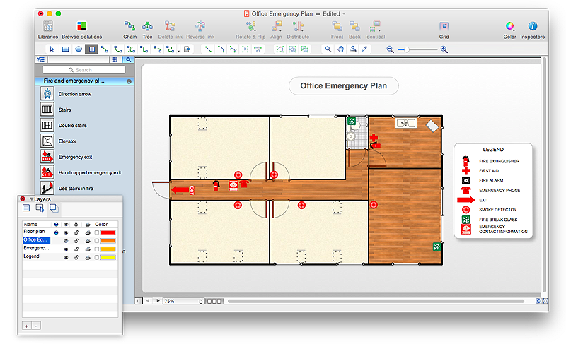 How to Draw an Emergency Plan for Your Office Fire and Emergency