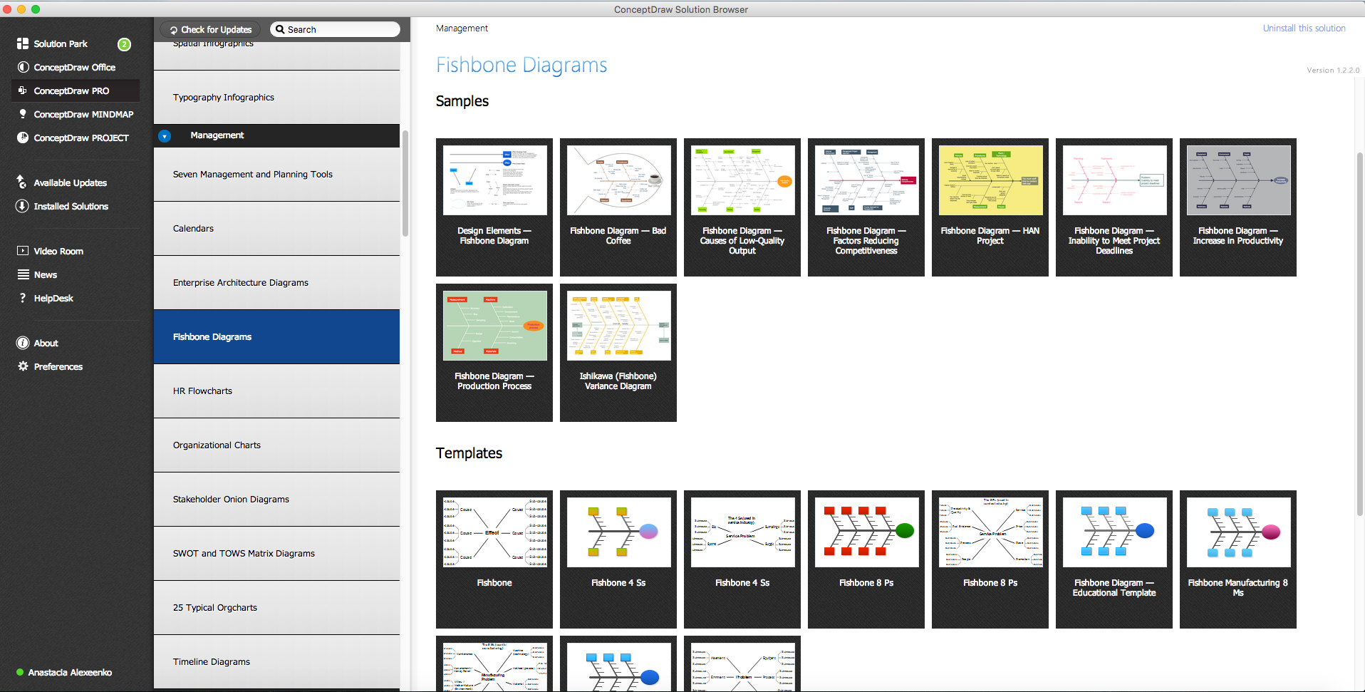 Fishbone Diagrams in ConceptDraw STORE