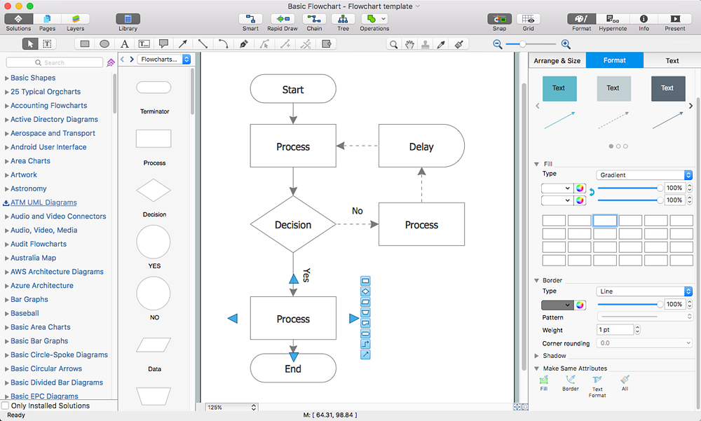 flowchart software free download conceptdraw helpdesk