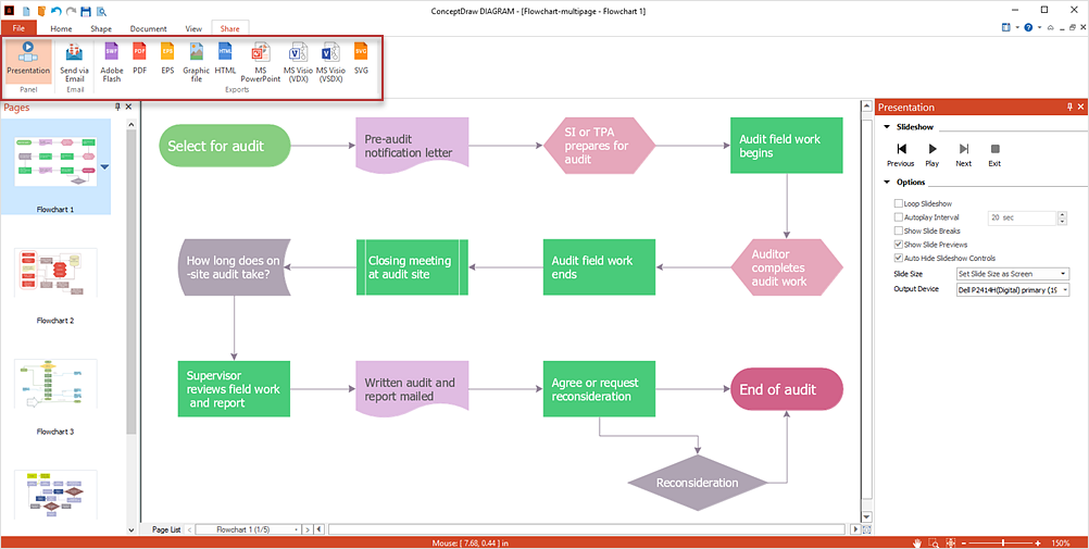 Download Flowchart Software Free