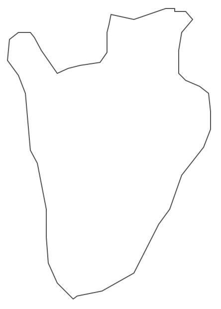 Geo Map - Africa - Burundi Contour