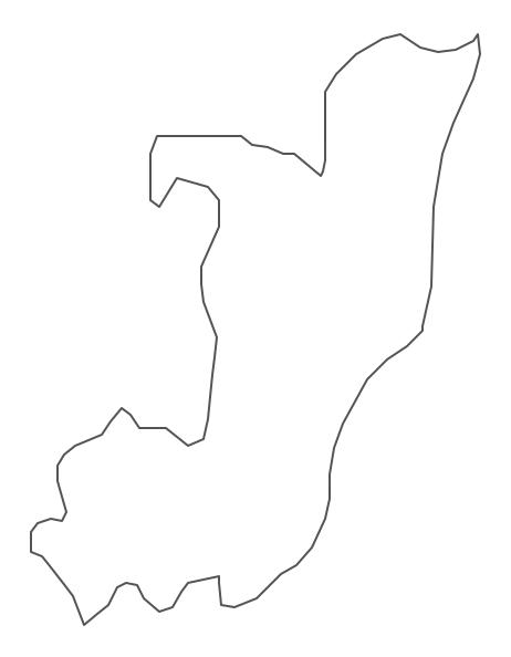 Geo Map - Africa - Congo Contour