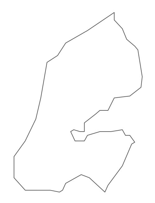 Geo Map - Africa - Djibouti Contour