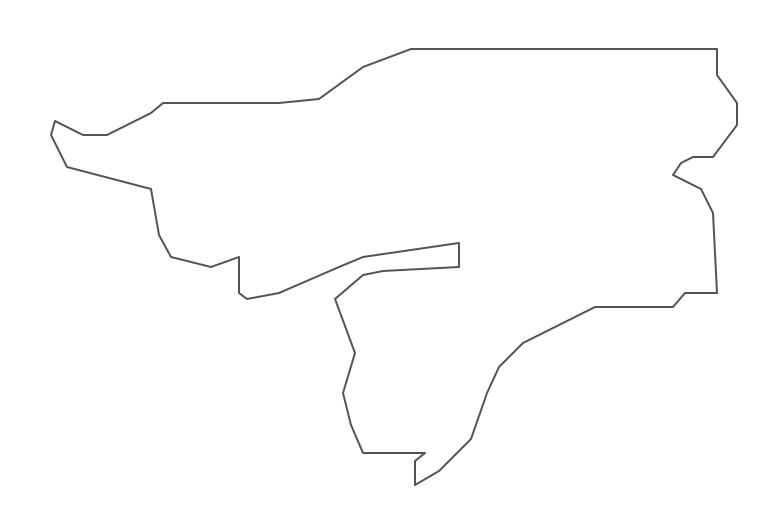 Geo Map - Africa - Guinea Bissau Contour