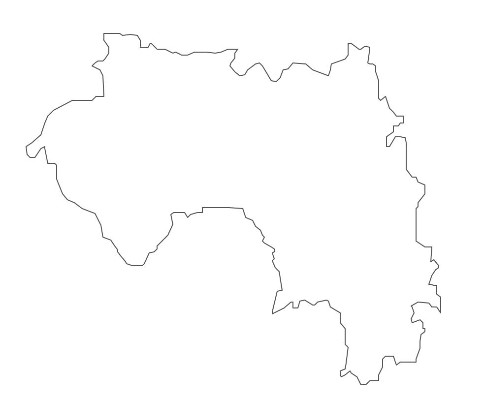 Geo Map - Africa - Guinea Contour