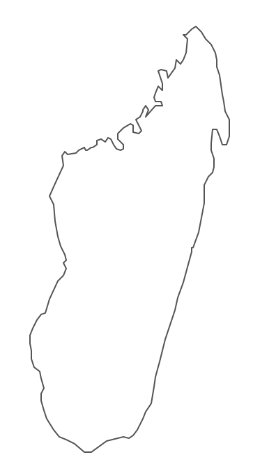 Geo Map - Africa - Madagascar Contour