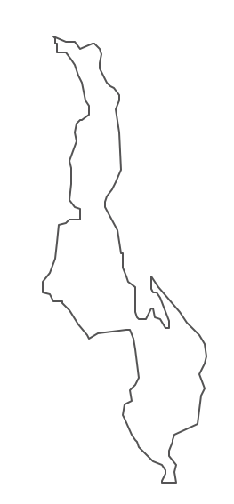 Geo Map - Africa - Malawi Contour