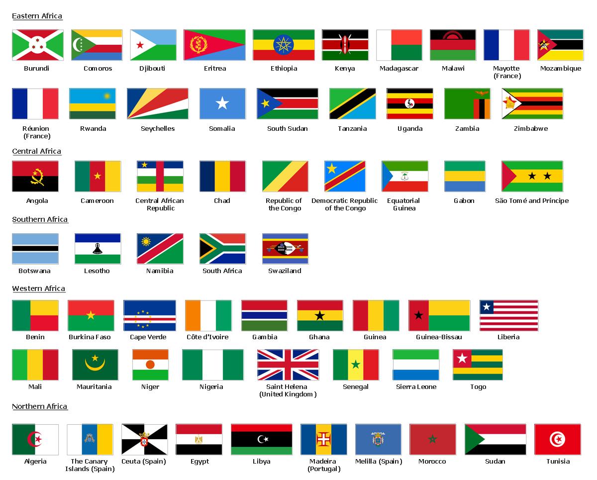 Geo Map - Africa