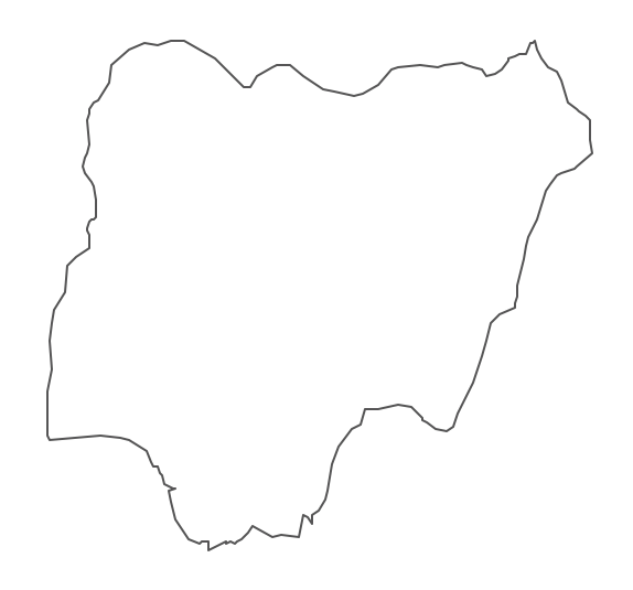 how to draw Nigerian map