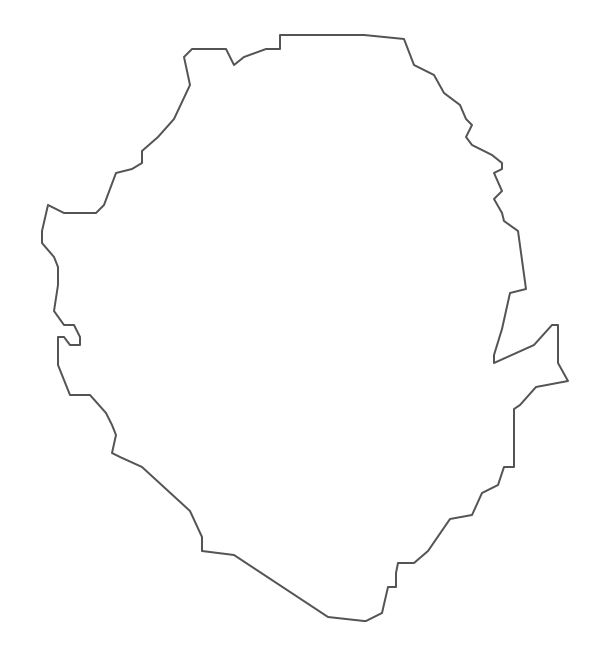 Geo Map - Africa - Sierra Leone Contour