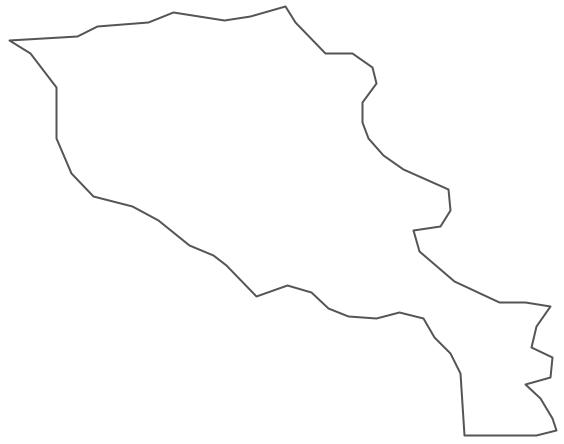 Geo Map - Asia - Armenia Contour