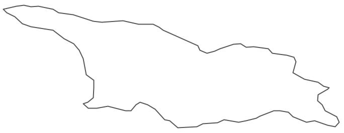 Geo Map - Asia - Georgia Contour
