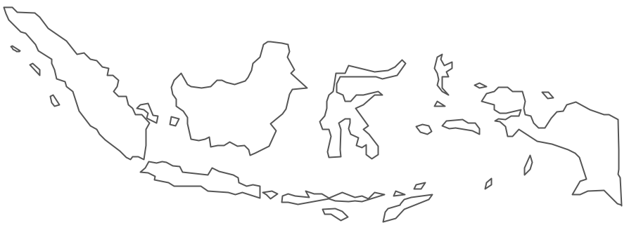 Geo Map - Asia - Indonesia Contour