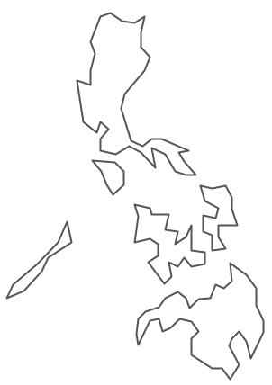 Geo Map - Asia - Philippines Contour