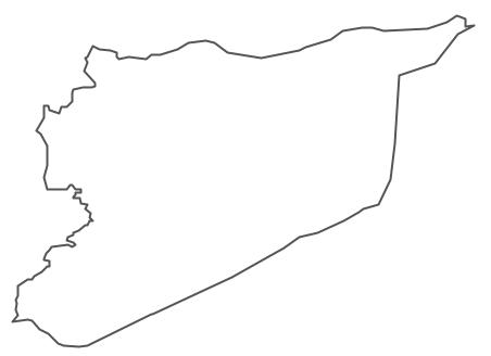 Geo Map - Asia - Syria Contour