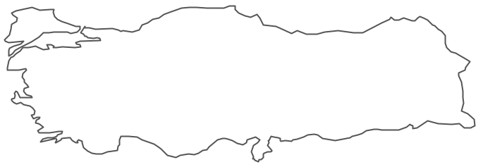 Geo Map - Asia - Turkey Contour
