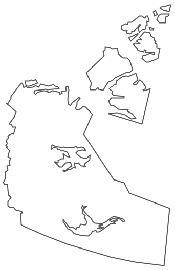 Geo Map - Canada - Northwest Territories Contour