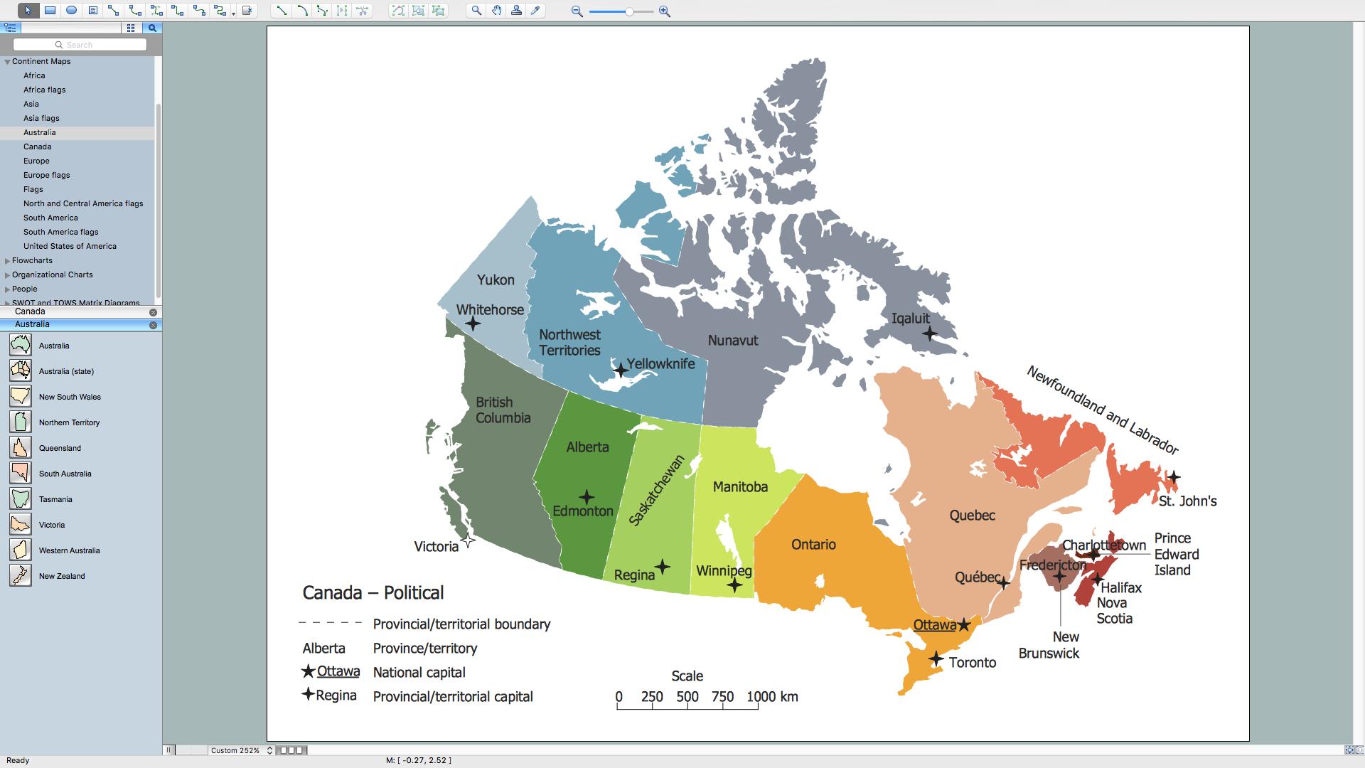Political Map Of Ontario Canada.Geo Map Canada Ontario