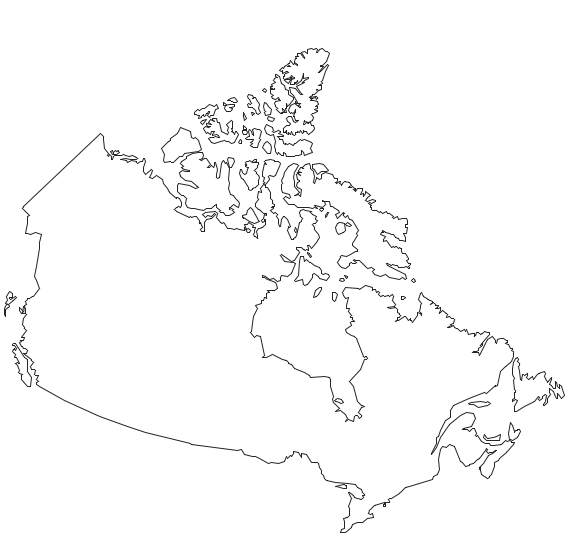 Geo Map - program library elements of Canada