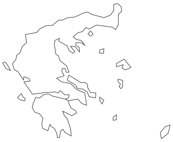 Geo Map - Europe - Greece Contour