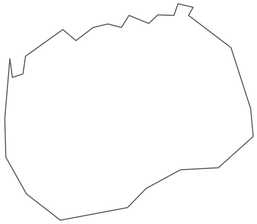 Geo Map - Europe - Macedonia Contour