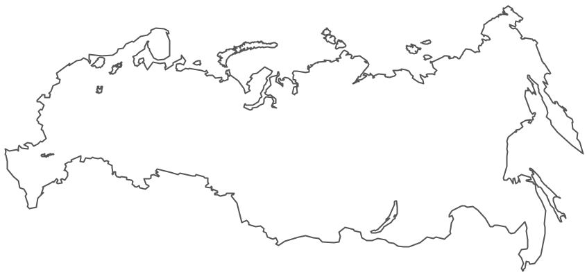 Geo Map - Europe - Russia