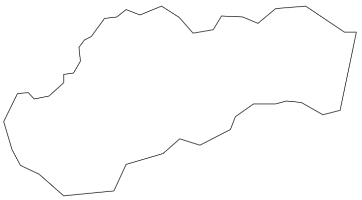 Geo Map - Europe - Slovakia Contour