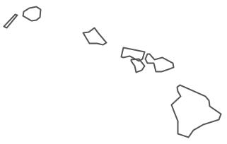 Hawaii Island Drawing