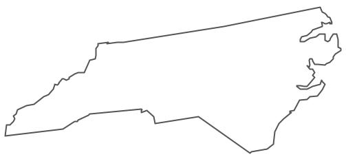 Geo Map Usa North Carolina