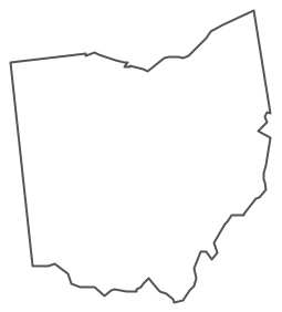 Geo Map - USA - Ohio Contour