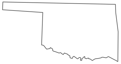 Geo Map USA Oklahoma - Oklahoma map usa