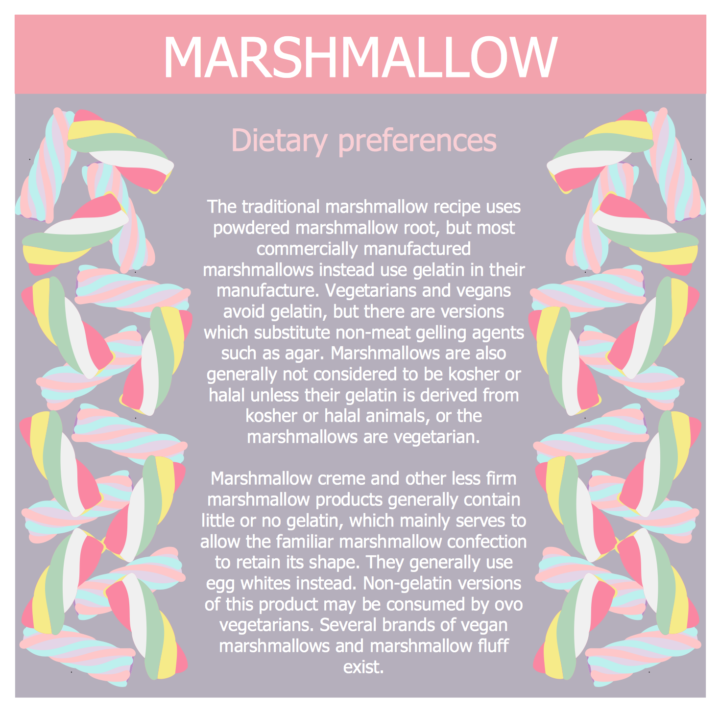 Healthy Meal Recipes - Marshmallow Dietary Preferences