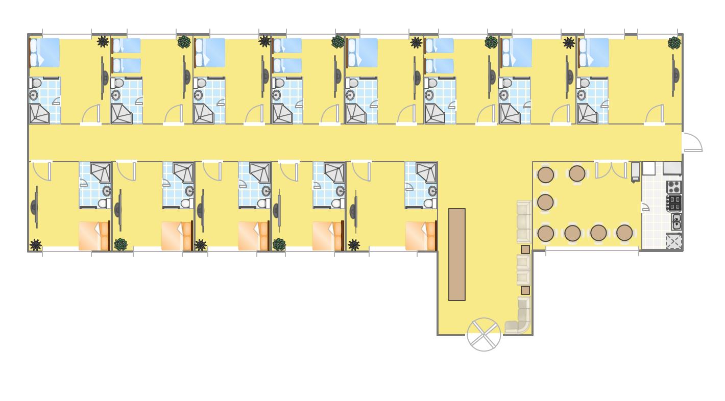 Hotel plan - Free room design website ...