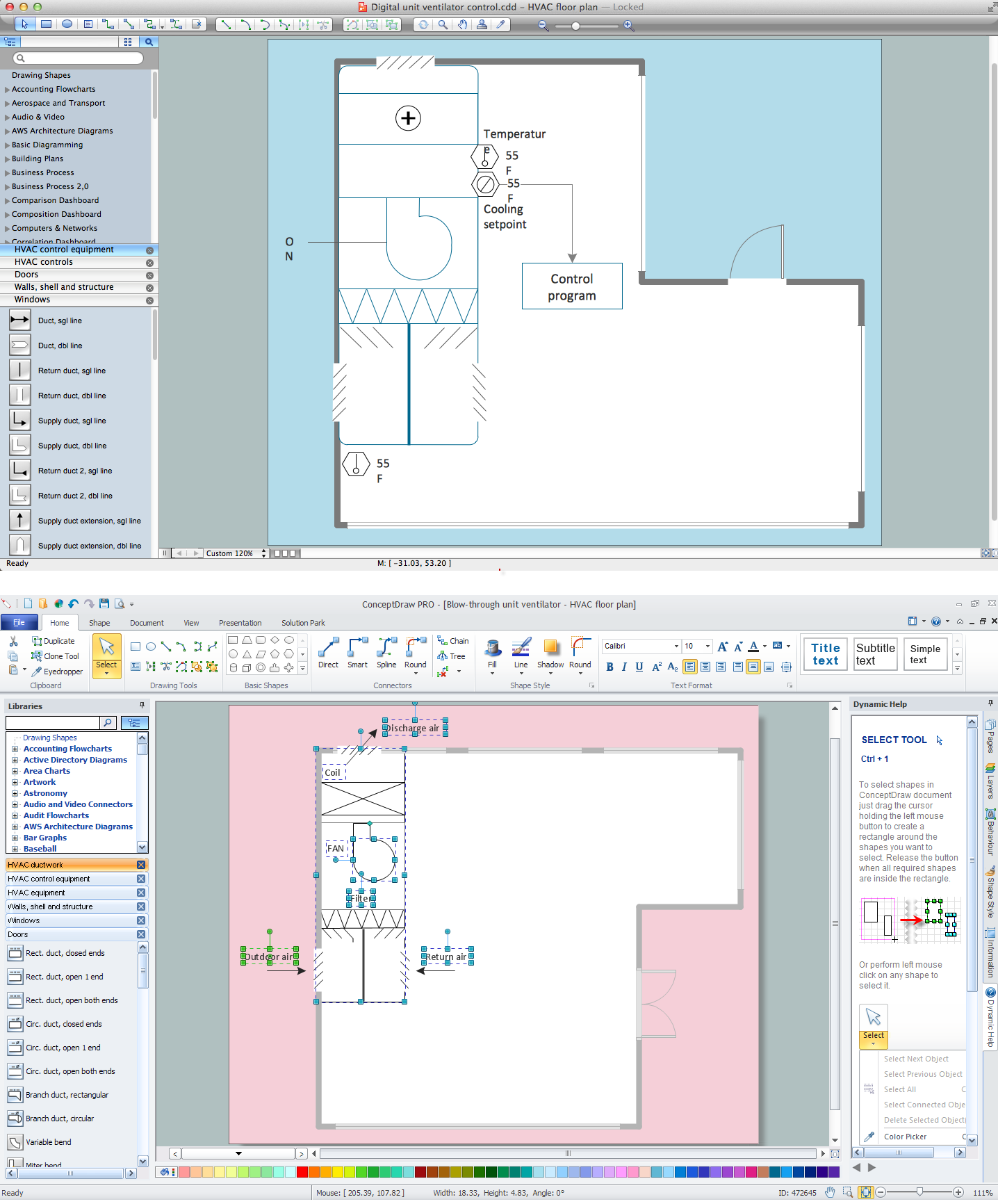 Blueprints Schematic Drawing Software - House Wiring Diagram Symbols •