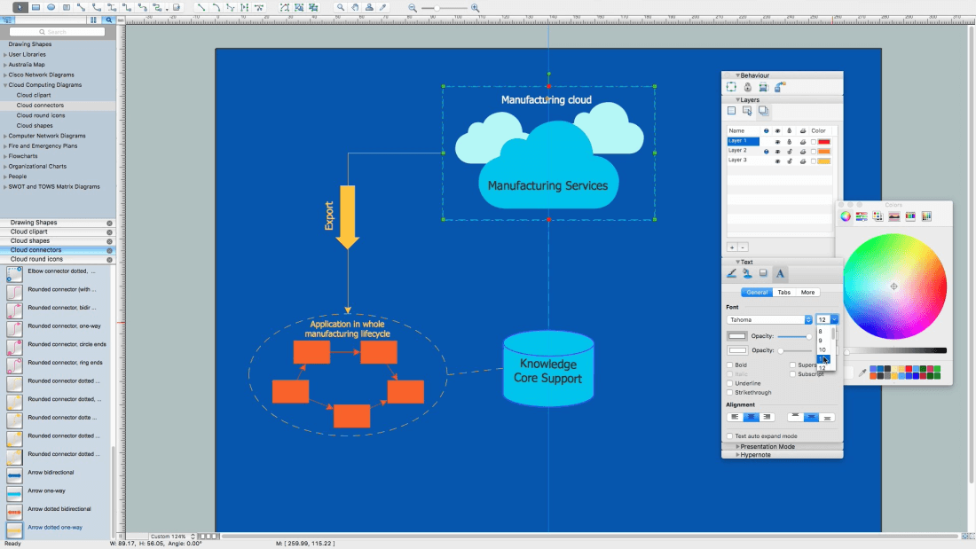 How to Build Cloud Computing Diagram