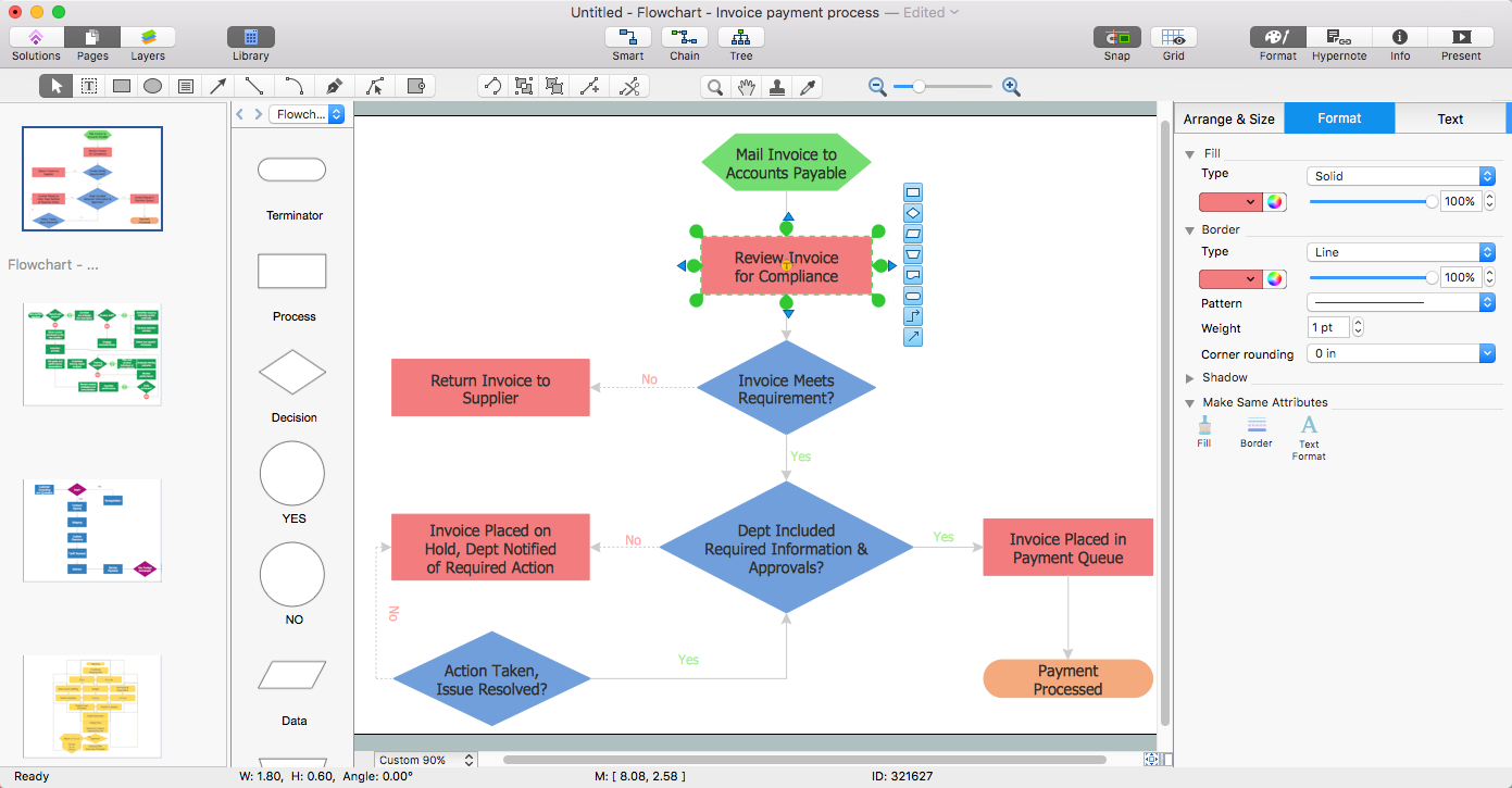 Wonderful How To Convert A Flowchart To Adobe PDF