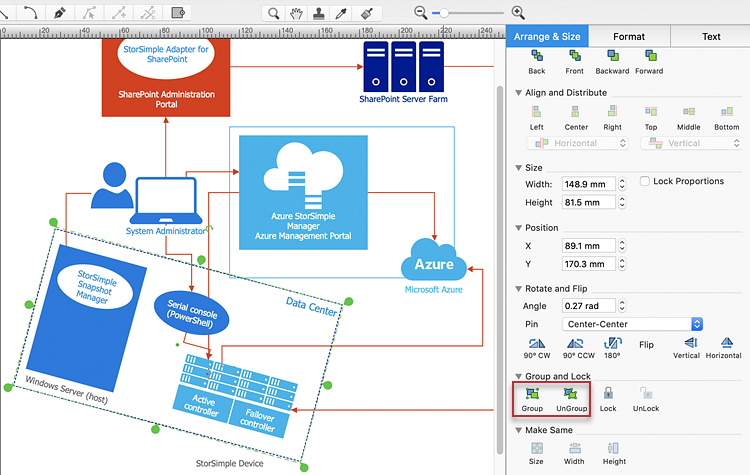 Creating an    Azure    Architecture    Diagram      ConceptDraw HelpDesk