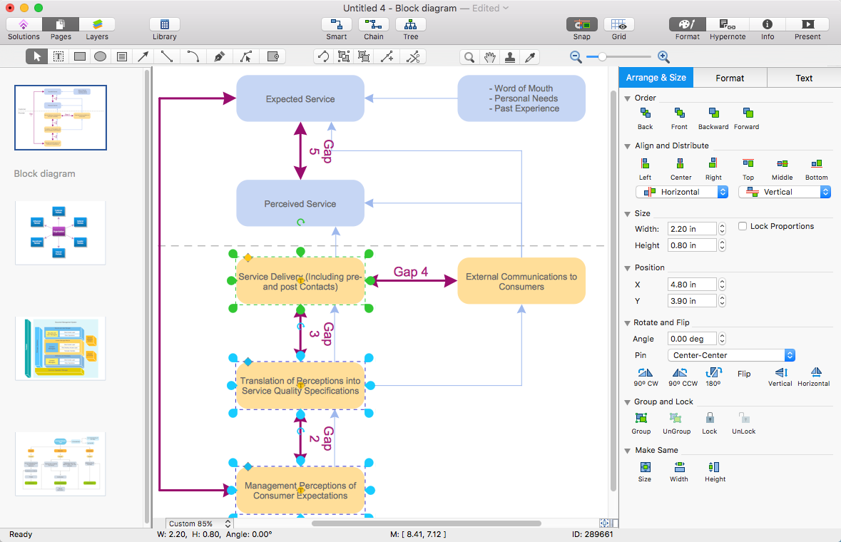Make a powerpoint presentation of a block diagram conceptdraw conceptdraw block diagram ccuart Image collections