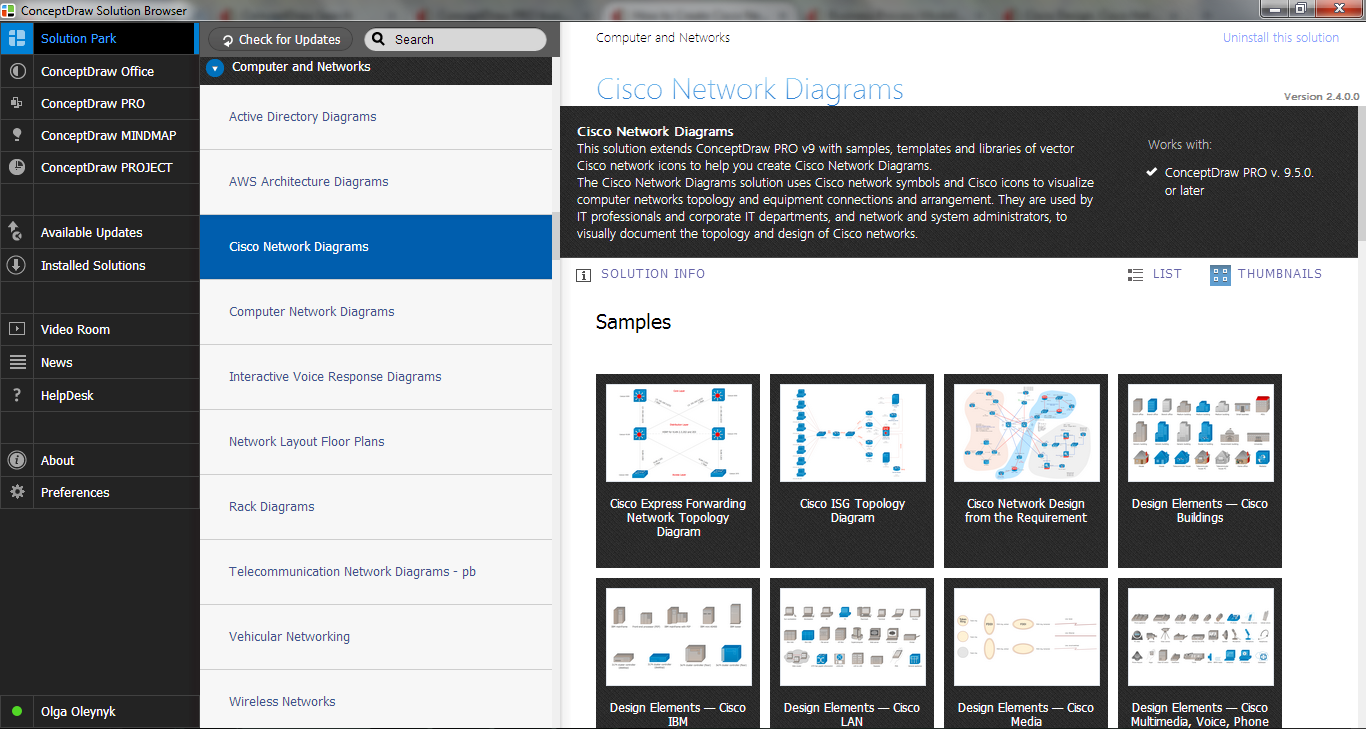 Cisco Network Diagrams Solution in ConceptDraw STORE